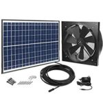 GBGS Solar Powered Exhaust Fan